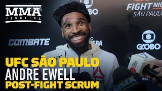 UFC Sao Paulo: Andre Ewell Says He'd Finish Renan Barao in First Round Next Time - MMA Fighting