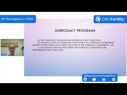 Melissa Brisman - Surrogacy and New NYS Laws