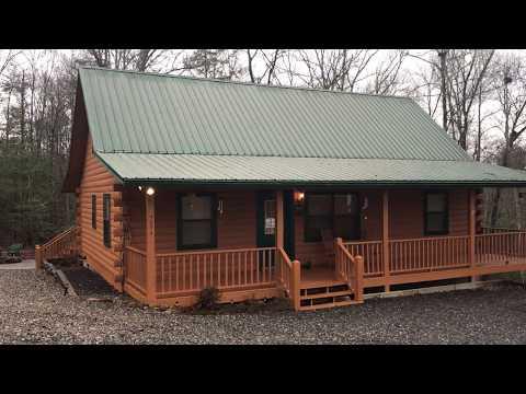 True Log Home For Sale In Blairsville, Ga