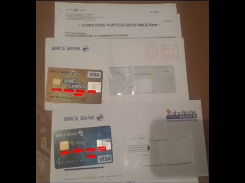 Comment prendre la Carte BMCE / E-pay كيفية أخذ البطاقة