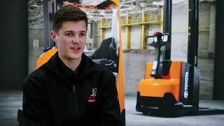 Meet Joshua our 2021 TMHA Forklift Apprentice