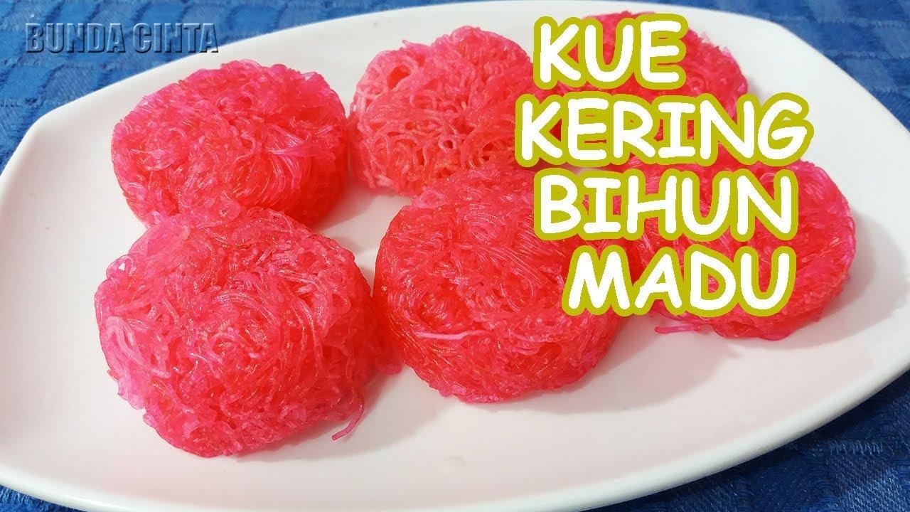 Resep Kue Kering Bihun Madu Anti Gagal
