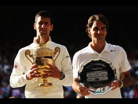 Novak Djokovic VS Roger Federer Highlight (WC) 2014 F