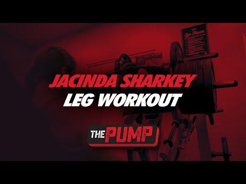 Jacinda Sharkey Legs Workout   The Pump