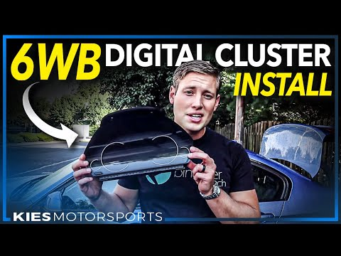 How to install the all new 6WB BMW OEM Digital Cluster on the F30, F30, F32, F3x, etc.