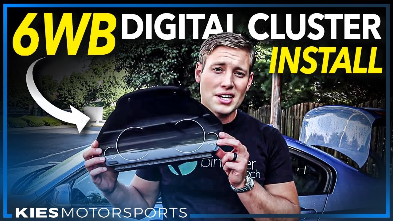 How to install the all new 6WB BMW OEM Digital Cluster on the F30, F30,  F32, F3x, etc  #6wb
