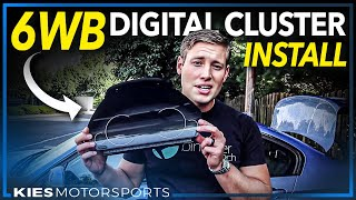 How to install the all new 6WB BMW OEM Digital Cluster on the F30, F30, F32, F3x, etc. #6wb