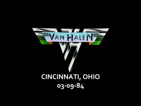 Van Halen - Cincinnati, Ohio - 03-09-84