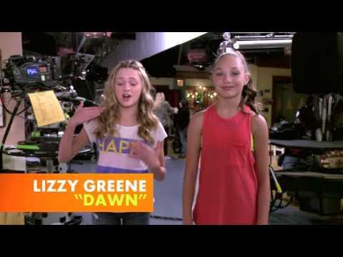 Nicky Ricky Dicky and Dawn BTS - Maddie and Mackenzie Ziegler
