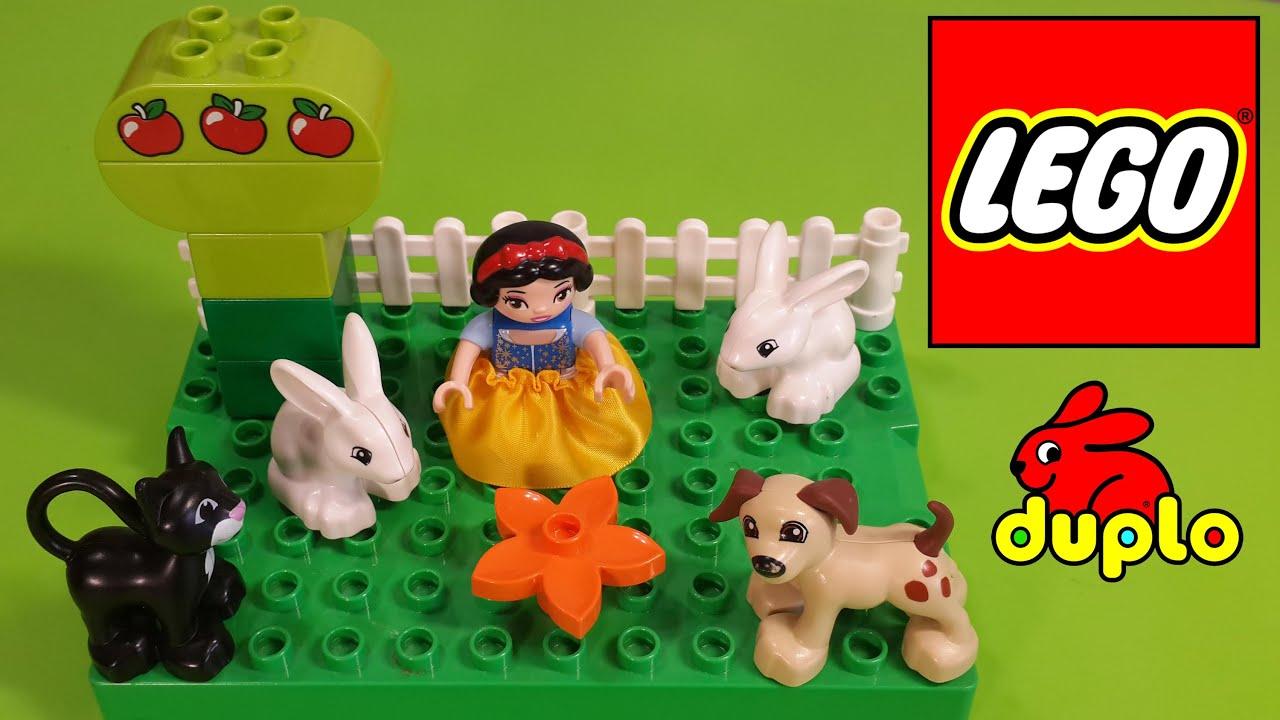 Лего Дупло конструктор белоснежка для девочек играемся ...