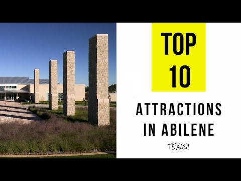 Top 10. Best Tourist Attractions in Abilene - Texas