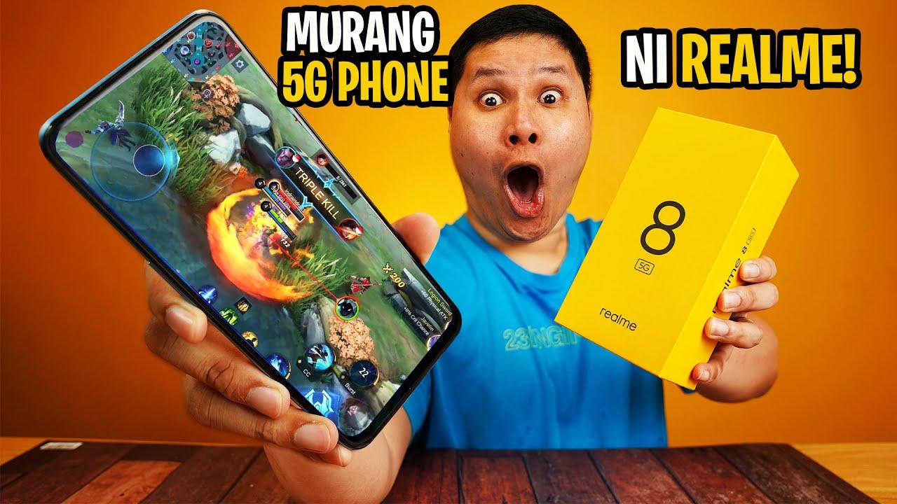 REALME 8 5G - MURANG 5G PHONE NI REALME!