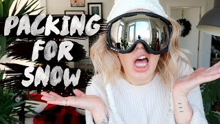 Ski Gear - ❄ ULTIMATE PACKING GUIDE FOR A SKI/ SNOW TRIP ⛄  | Karismas DAY 23