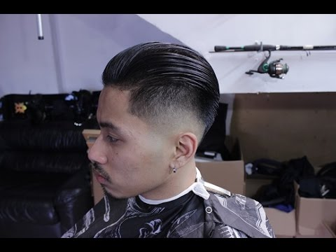 Slick Back Bald Fade