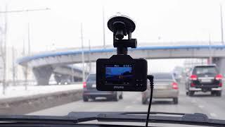 видео Видеорегистратор с радар-детектором P550 TETRA PlayMe