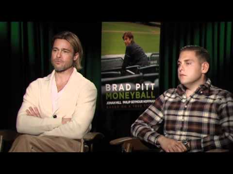 Brad Pitt & Jonah Hill - Moneyball Interview at TIFF 2011