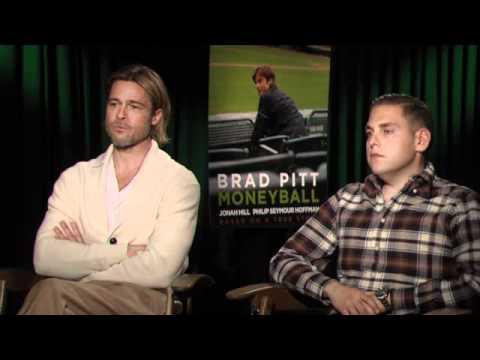 Brad Pitt & Jonah Hill - Moneyball Interview at TIFF 2011