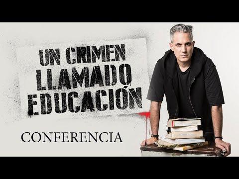 Un crimen llamado educación conferencia con Jürgen Klarić