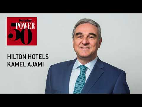 Power 50 2017: Hilton Hotels' VP operations Kamel Ajami