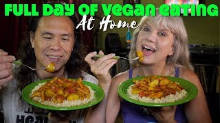 What We Ate In A Day As High Carb Vegans