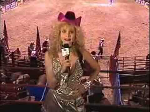 USA Up All Night 41 1991 Rhonda Shear  at the Rodeo with Adam Sandler