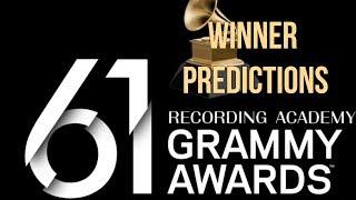 WINNER PREDICTIONS of 61st Annual Grammy Awards | GRAMMYs 2019
