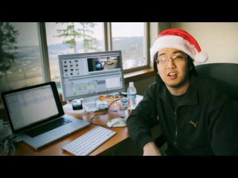 On vacation, and the 12 Days of VFXmas!