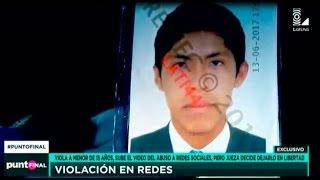 Tacna: violadores abusan de menor y suben el video a redes sociales