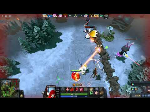 DOTA 2 TOUHOU DEFENCE OF THE SHRINE play by Heng(sea sever)Road to yumemi master