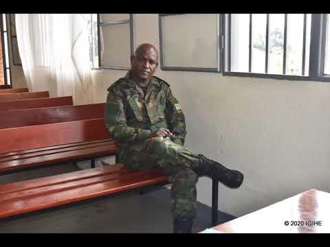Maj Mudaheranwa Uregwa Kwica Umusore Amwitiranyije N'uwamutereye Umwana Inda Yahakanye Ibyaha
