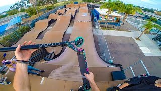 TESTING ENVY PRODIGY ON MEGA RAMP!