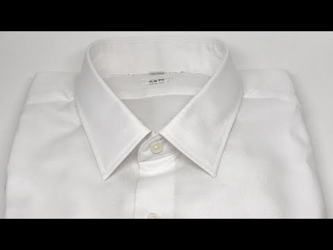 Uniqlo Men Easy Slim Fit Oxford Long Sleeve Shirt White In 4K