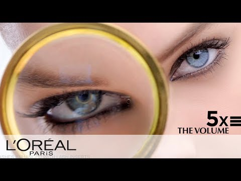 c54839154dc Voluminous Mascara for 5 Times More Volume | L'Oréal - YouTube