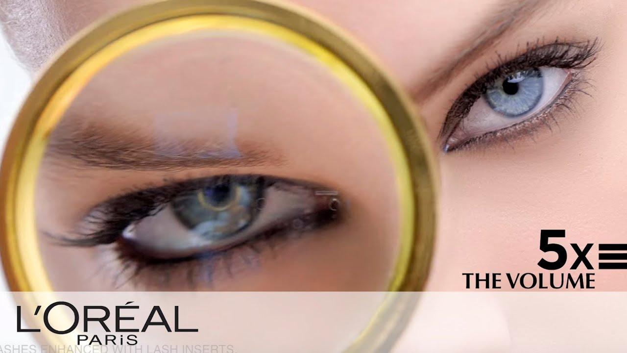 5c242f9997a Voluminous Mascara for 5 Times More Volume | L'Oréal - YouTube