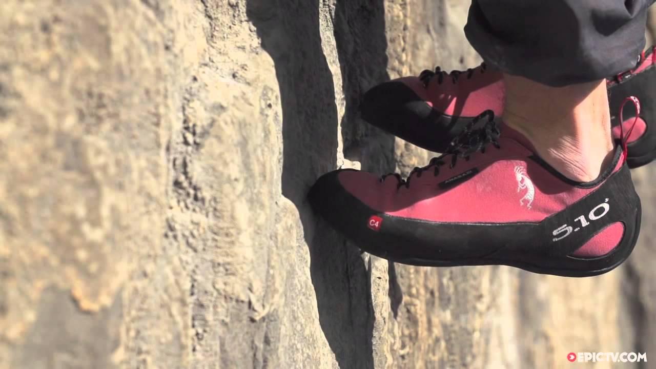 Five Ten Anasazi Pink LU Climbing Shoe