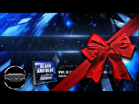 """WWE  Smackdown Official Theme Song 2015 - """"Black and Blue"""" + Lyrics [HD]"""