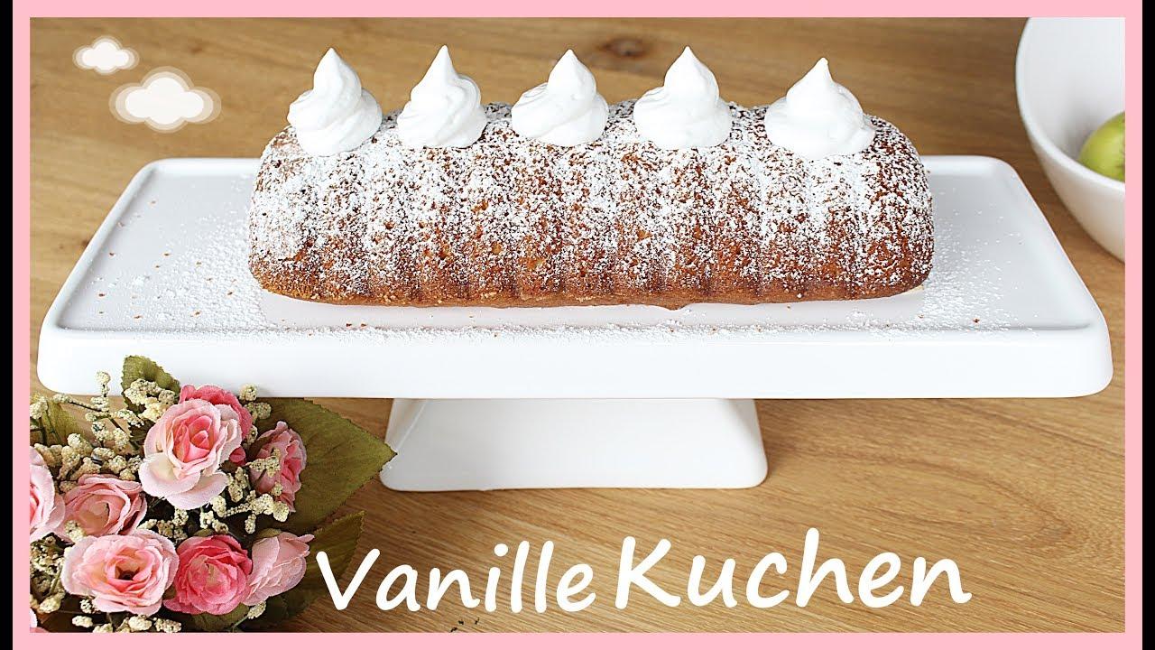 Diy Vanillekuchen Mit Marshmallow Creme Topping Schnell Und