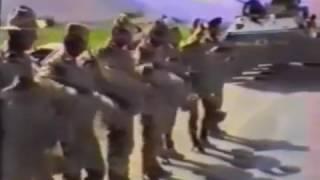 Начальник тыла армии увидел как дембеля бьют духа. Афганистан 1988 год.