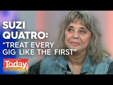 Suzi Quatro 'I treat every gig like the first' | TODAY Show Australia Mp3