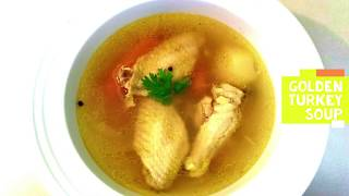 Turkey Soup by Helen M  Radics