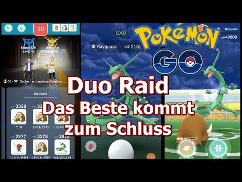 DUO Rayquaza FINALE Pokemon GO deutsch Berlin #89