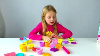play doh little pony cup cake alicia prank papa