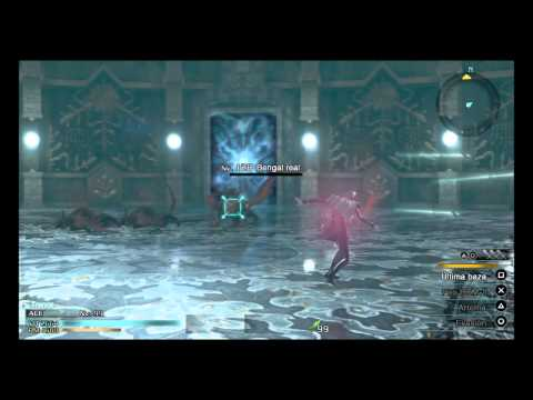 FINAL FANTASY TYPE-0 HD Torre Agito 2ª planta Bengal real