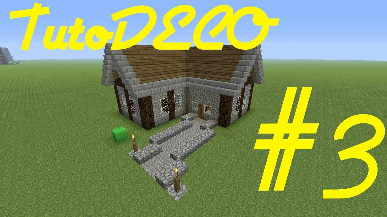 Tuto minecraft comment faire une maison m di vale youtube for Maison classique minecraft