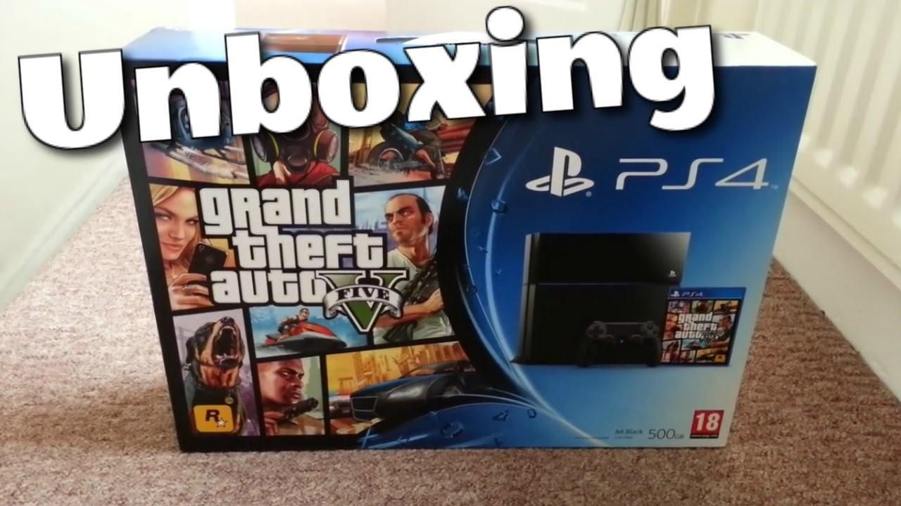 PS4 GTA V Bundle Unboxing (Grand theft auto) GTA 5