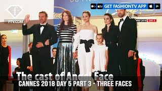 Marion Cotillard on Three Faces Red Carpet at Cannes Film Festival 2018 Day 5 | FashionTV | FTV