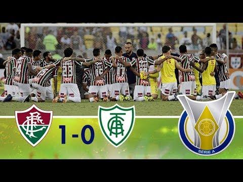 Melhores Momentos - Fluminense 1 x 0 América MG - Campeonato Brasileiro (02/12/2018)