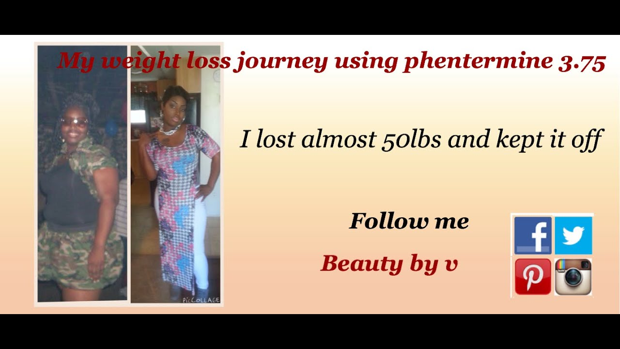 Weight loss results taking phentermine
