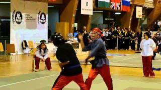 "NUNCHAKU GAME VEVEY 2012 : FIGHTER  ""David"""
