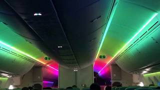 Boeing 787 Transatlantic Dreamliner Aircraft Full LED Show